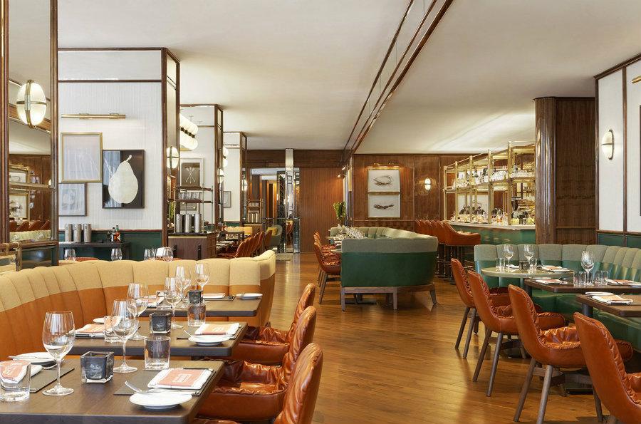 Ecletic midcentury brasserie Cafe Boulud Toronto by Martin Brudnizki