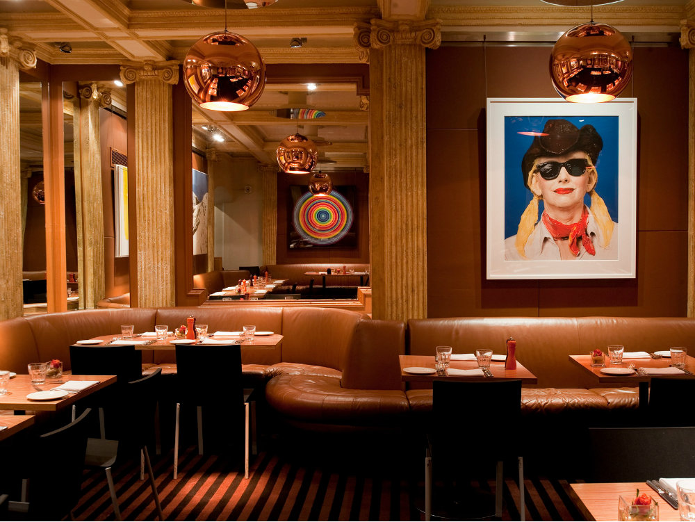 London best restaurants The Groucho club by Michaelis Boyd Design