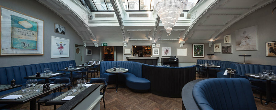 Soho restaurant interior design ideas