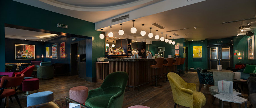 London best restaurants - The Groucho club by Michaelis Boyd Design