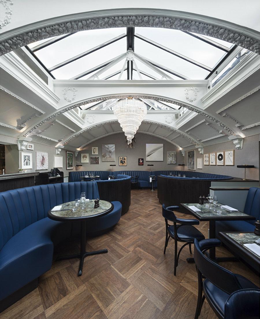 London best restaurants by Michaelis Boyd Design