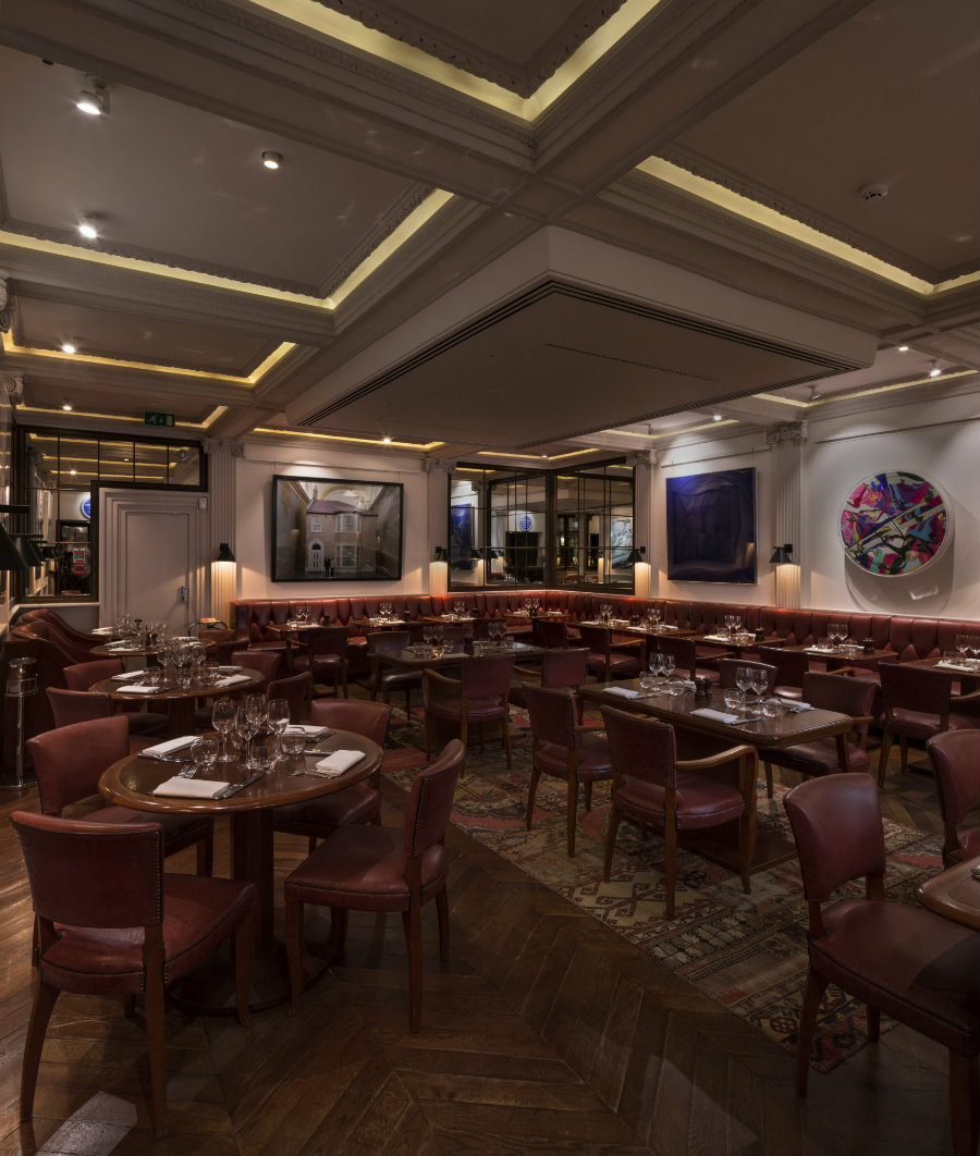 London best restaurants - The Groucho club by Michaelis Boyd Design (6)