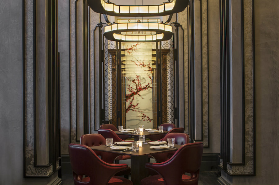 Mei Ume A Luxury Asian Restaurant In London By Ab Concept