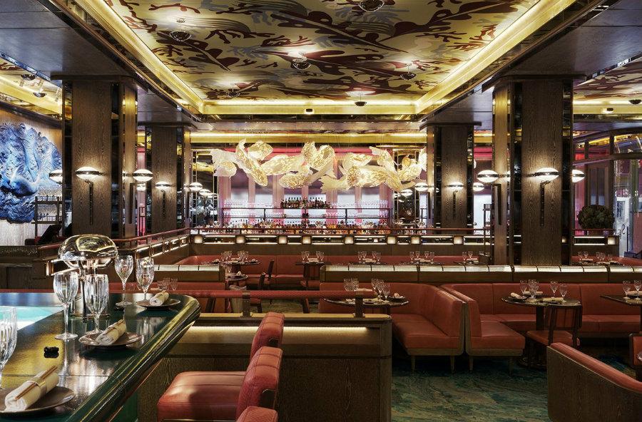 Sexy Fish London restaurant_midcentury interiors by Martin Brudnizki