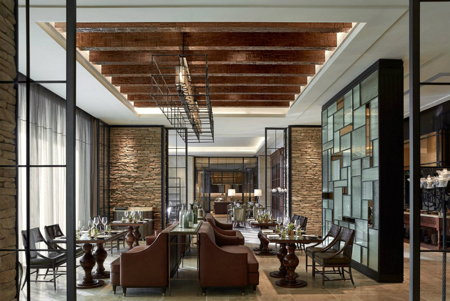 Ritz Carlton Haikou Restaurant interior design ideas