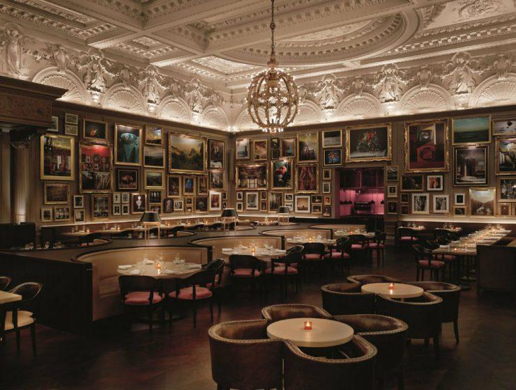 london best restaurants Restaurant Interior Design