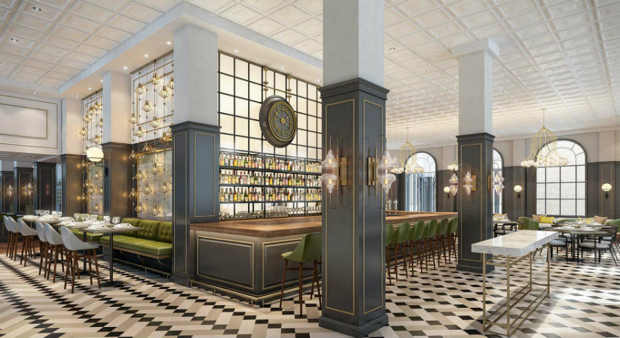Fairmont Palliser Hotel - Restaurant dining area by Puccini Group