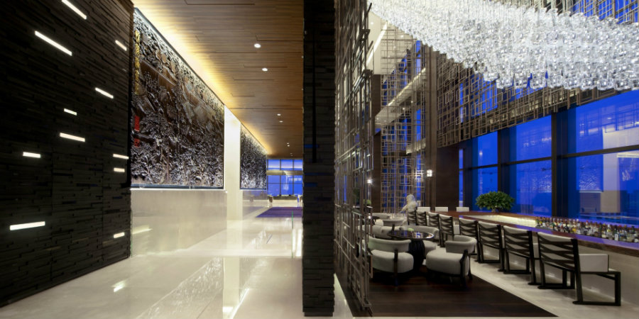 Grand Hyatt Shenyang restaurant decor by HBA