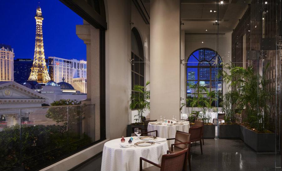Guy Savoy restaurant at Caesar Palace - Most expensive restaurants in Las Vegas