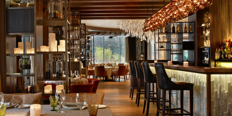 Contemporary italian restaurant interior design ideas by HBA