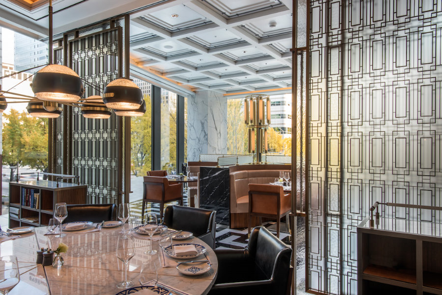Restaurant Interior Design Ideas - Italian restaurant at Four Seasons Hotel Seoul
