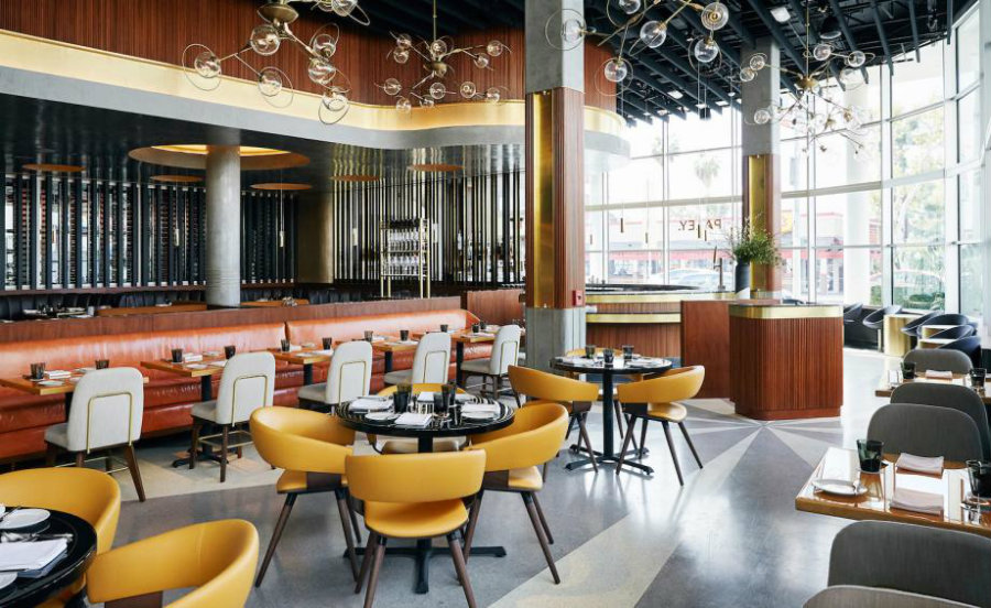 Los Angeles best restaurants - Paley designed by Plan Do See America