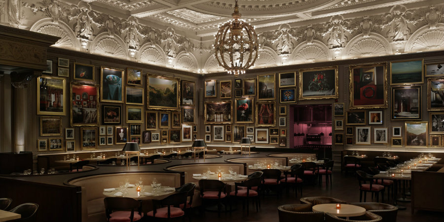 Tavern - Dining room ideas to steal from Ritz Carlton London restaurant