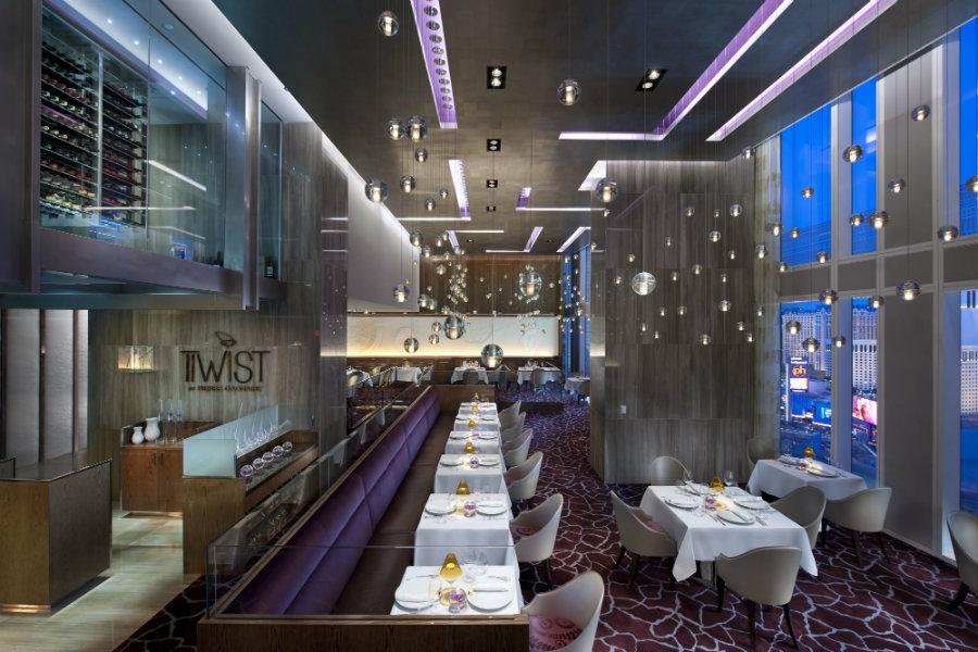 Twist by Pierre Gagnaire at Mandarin Oriental - Luxury restaurants in Las Vegas