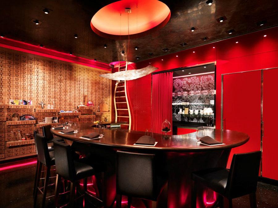 E by Jose Andres restaurant interior design in Las Vegas