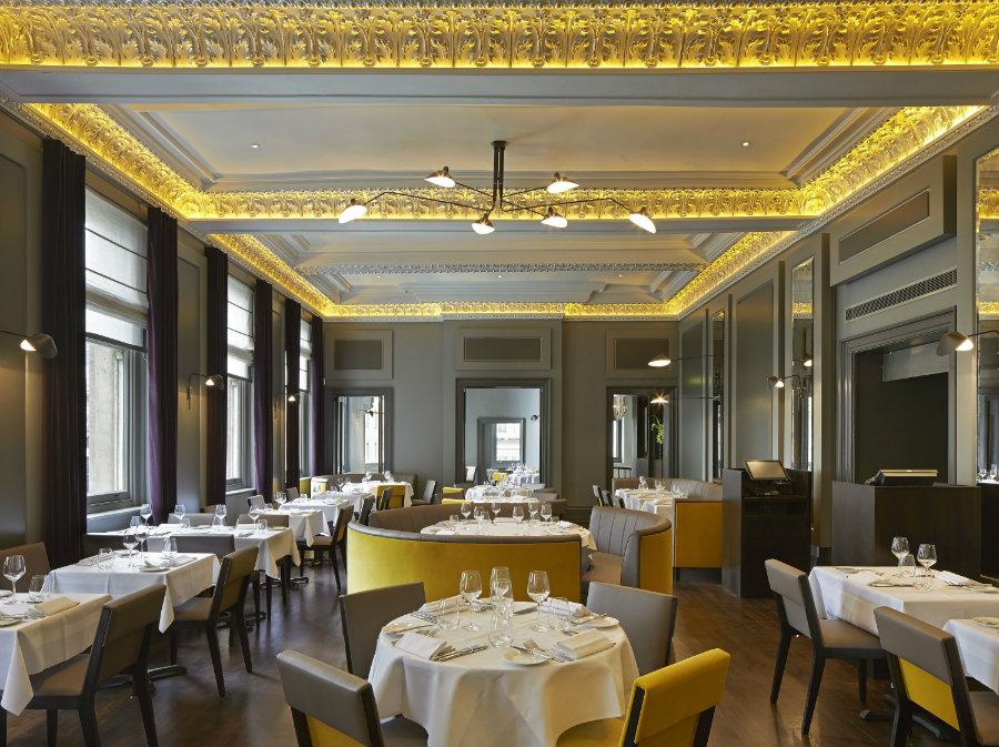 Christophers Covent Garden luxury restaurant interior design ideas