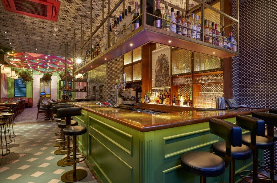 Restaurant interior design ideas at Cinnamon Bazaar