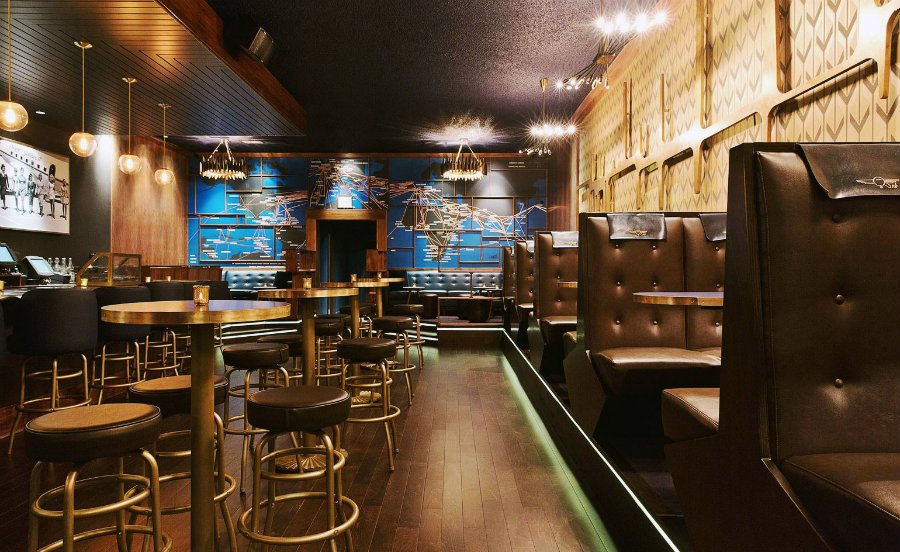 Now Boarding Los Angeles bar interior design ideas