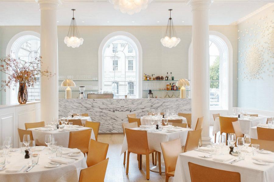 London best restaurants Sprinig Sommerset