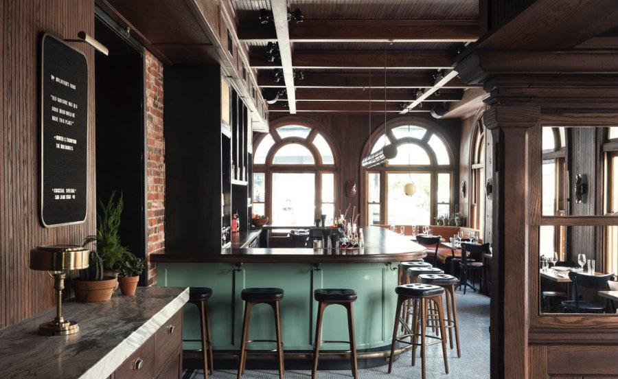 Restaurant furniture - bar stools without backs