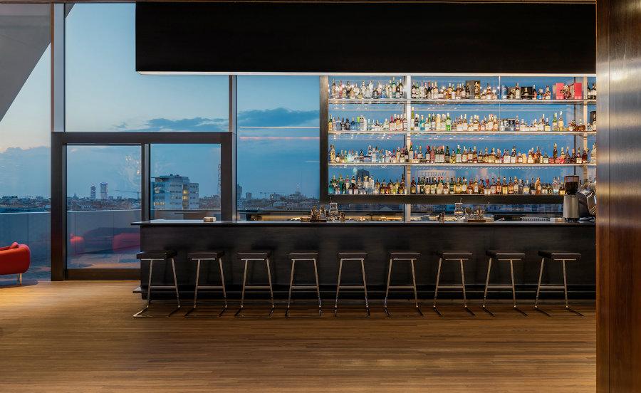 Bar furniture ideas at Torre Ristorante Milan