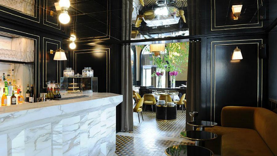 Joseph Dirand restaurant ideas - Le Flandrin