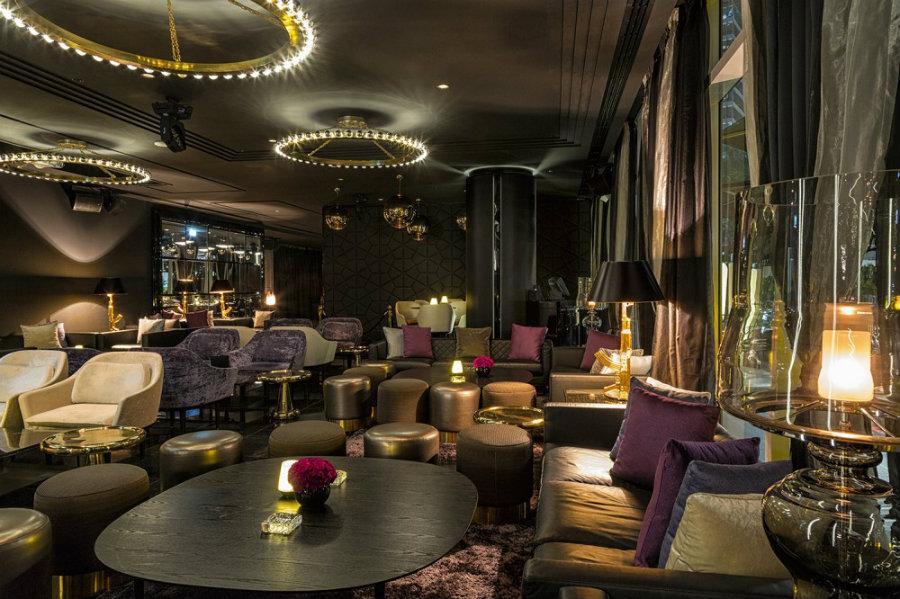 Luxury restaurant interior design decor at The Cle Dubai