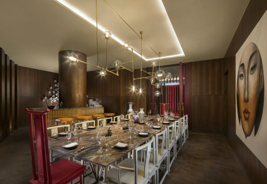 Luxury restaurant interior design ideas