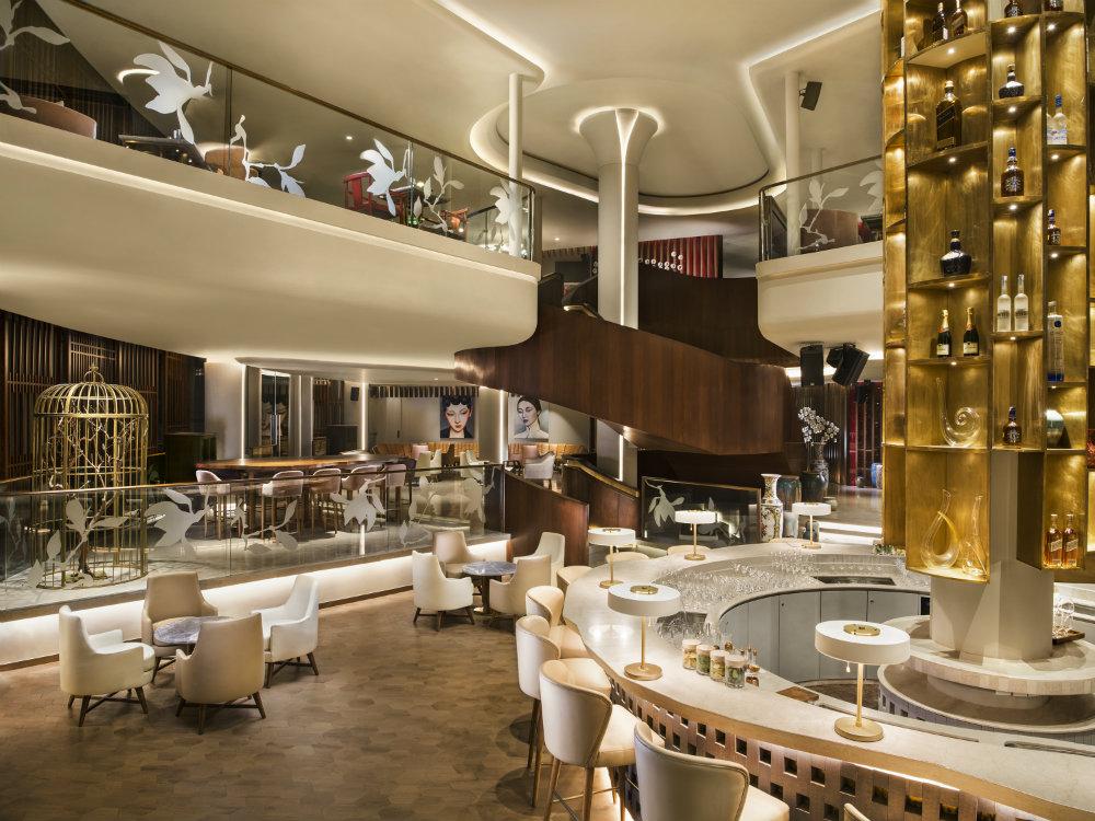 the hong kong club at delhi a luxurious restaurant interior decor