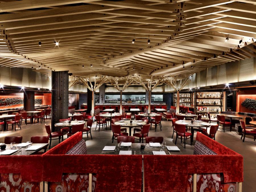 Nobu New York restaurant designed by Rockwell Group