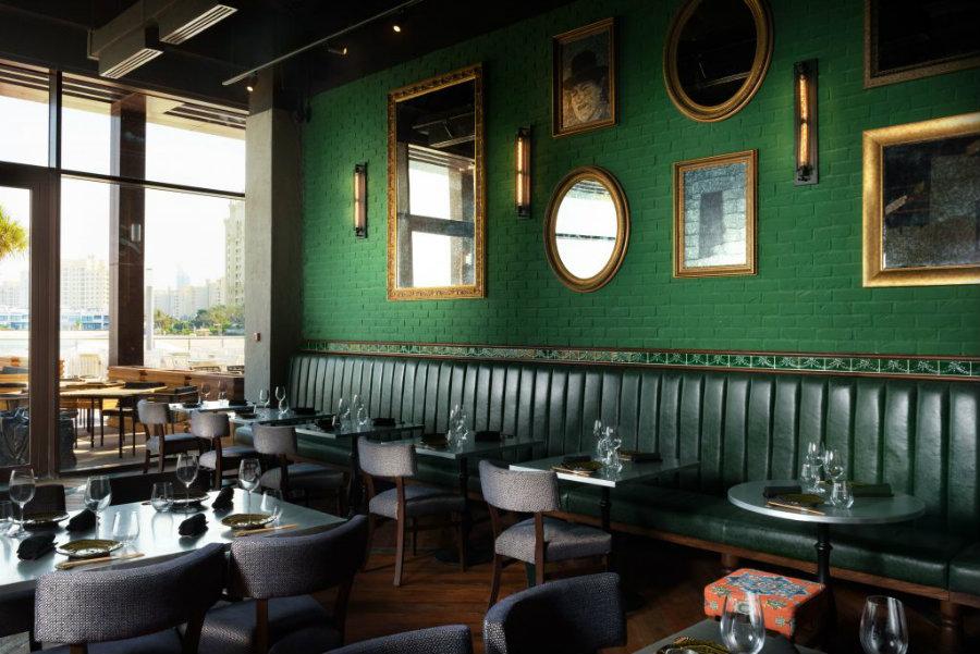 Restaurant furniture ideas at Aji restaurant by Keane Brands