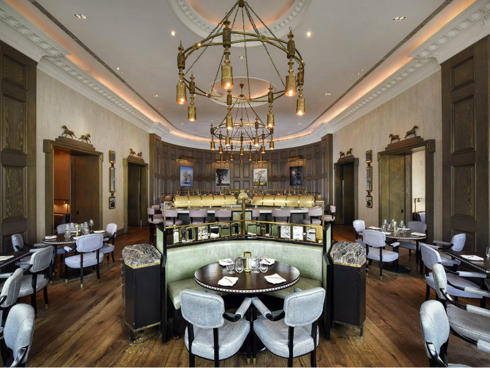 Roux at The Landau, a future restaurant trend 2019 by David Collins ...