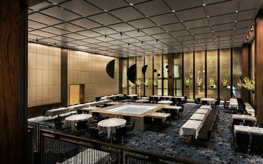 The Pool restaurant New York - modern restaurant interior design ideas