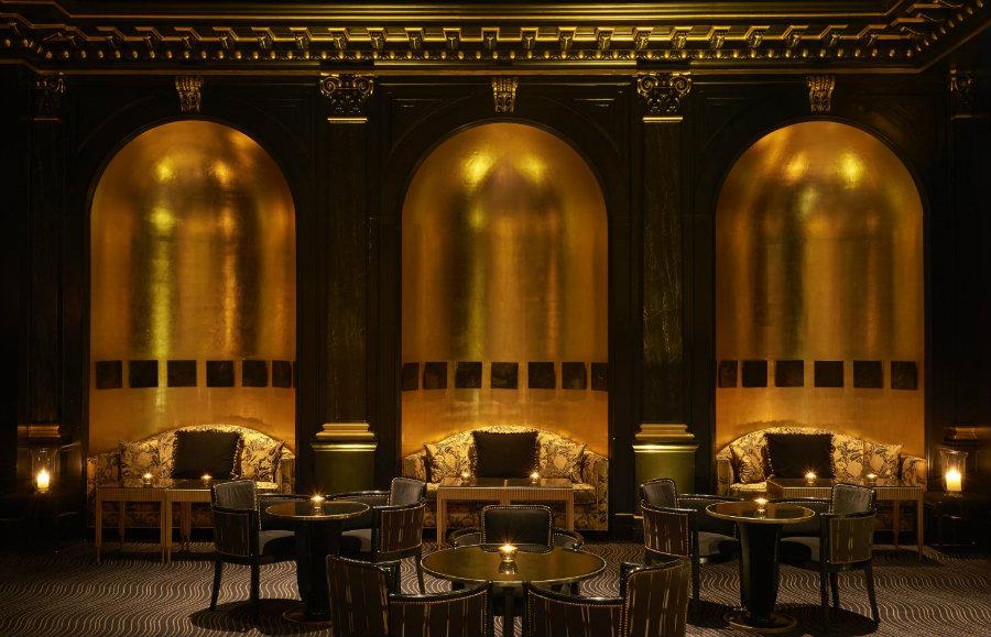 The Savoy Restaurant hotel interior decor ideas - The Beaufort bar