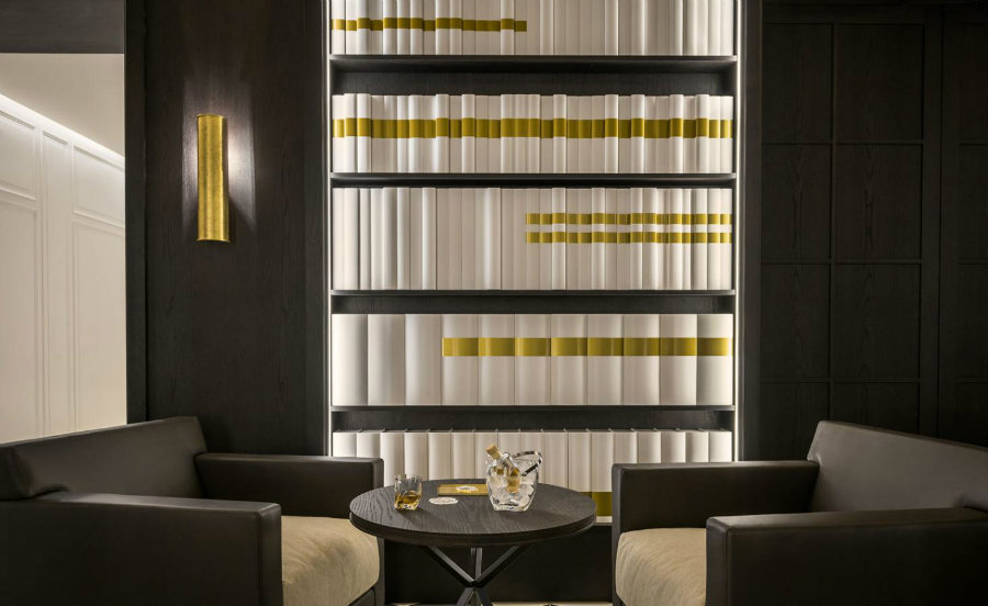 Hexagone restaurant interior design ideas by Gilles and Boissier