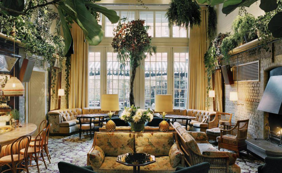 London best cocktail bars Chiltern Firehouse