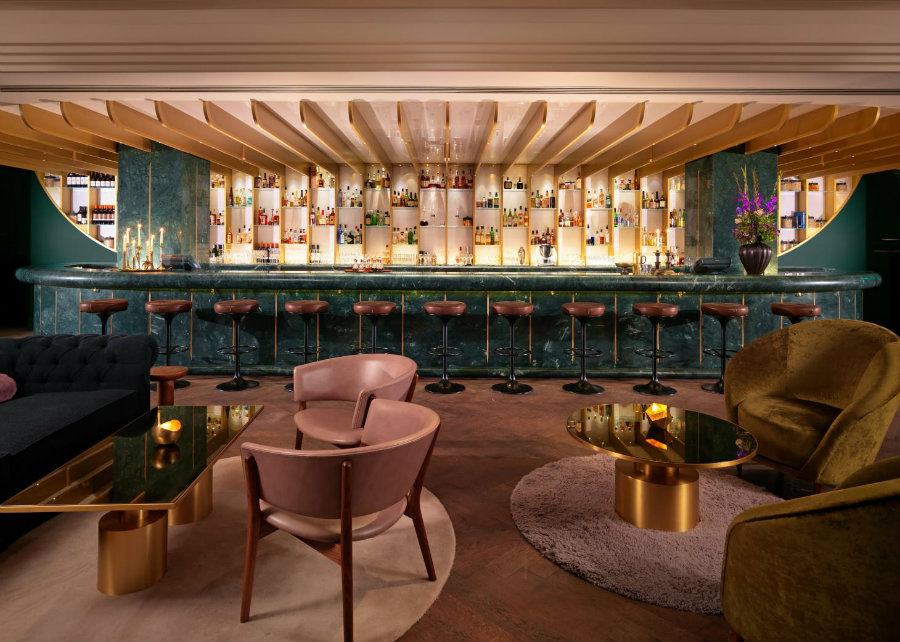 Best London bars The Coral room by Tom Dixon