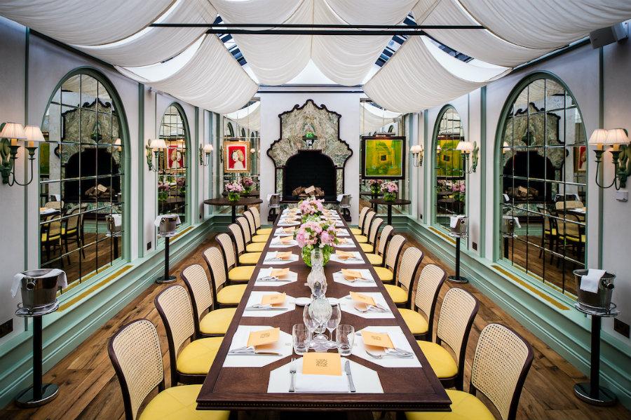 Martin Brudnizki restaurants - Daphne private dining room
