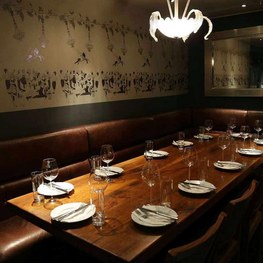 Dehesa London private dining room
