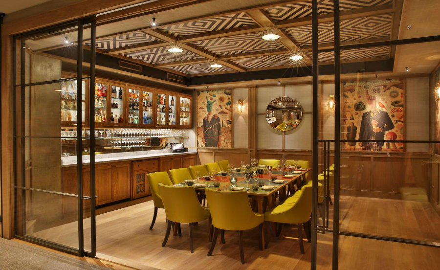 Percy Founders private dining room London