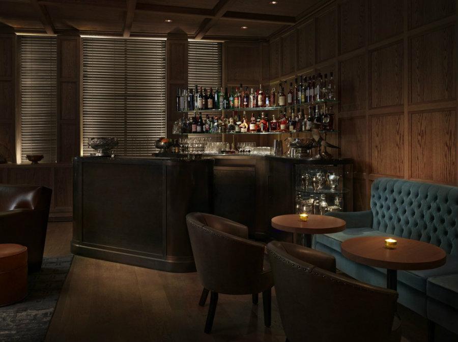 London cocktail bars - Punch Room bar decor