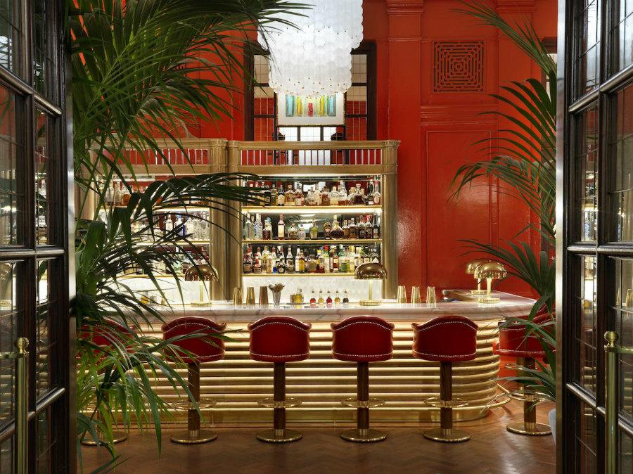 Best London bars The Coral room by Martin Brudnizki
