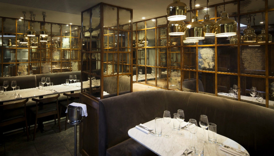 London best private dining rooms, Trishna at Marylebone