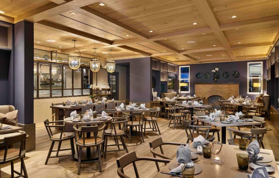 Yabu Pushelberg restaurants - Acacia Restaurant