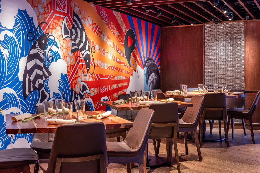 best USA restaurant interior design decor Danlu