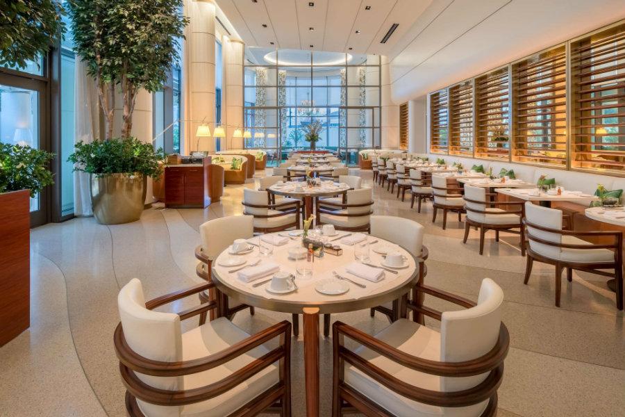 Jean Georges by Pierre Yves Rochon restaurant interior design ideas