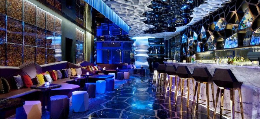 Ritz Carlton Hong Kong Luxury bar lounge seating
