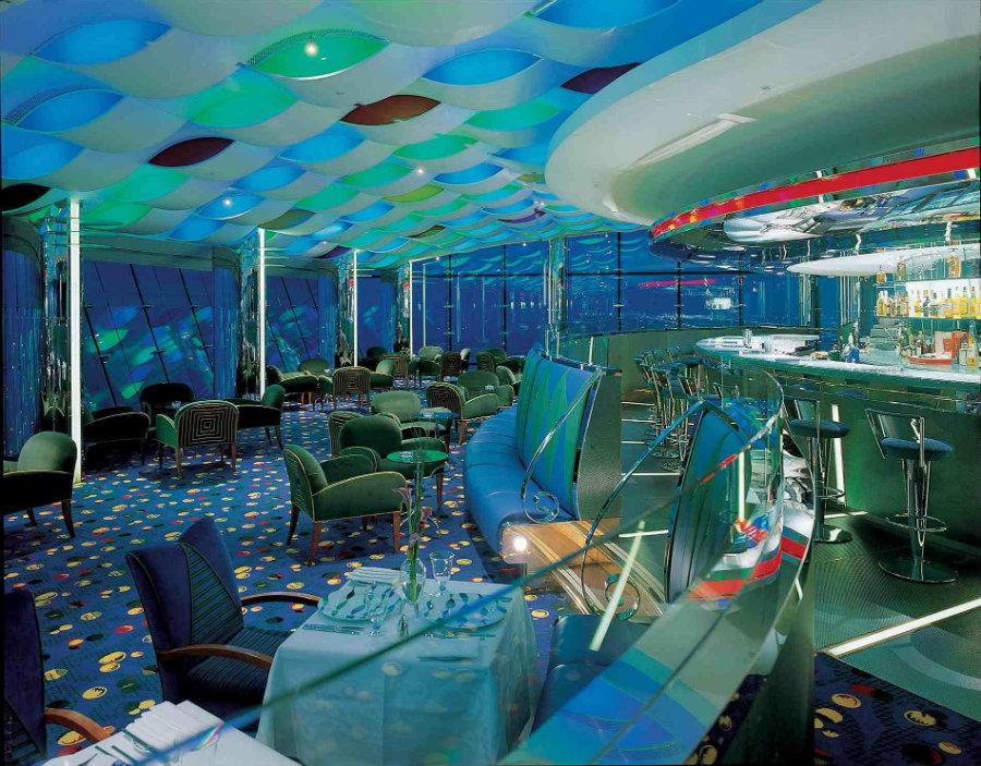 THE BURJ AL ARAB HOTEL - Al Muntaha lounge bar