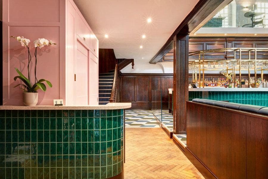 Dudells London restaurant design area