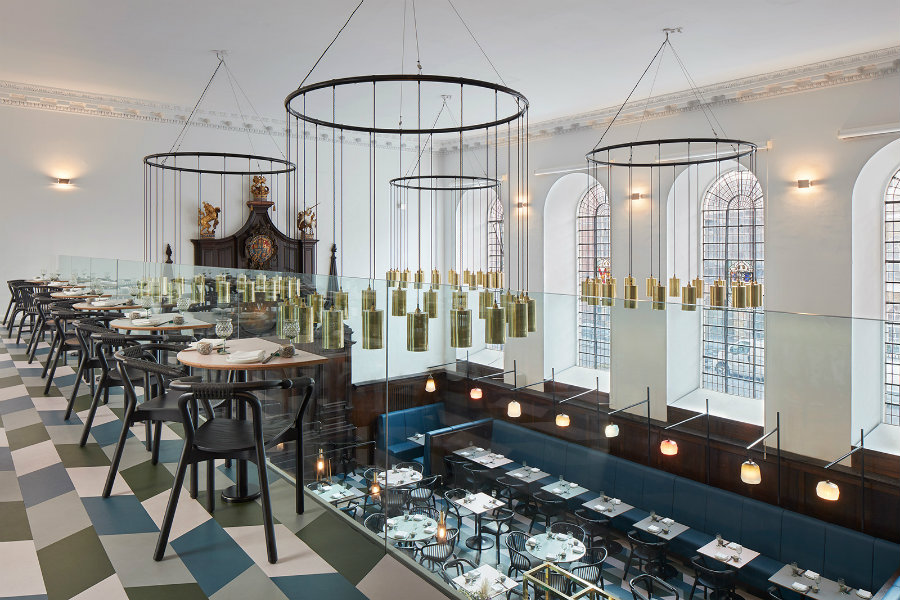 Restaurant furniture ideas by Michaelis Boyd